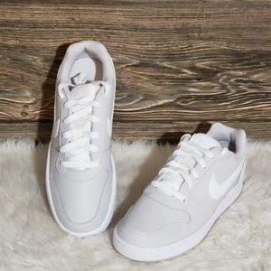 New Nike Ebernon Low light grey Sneakers